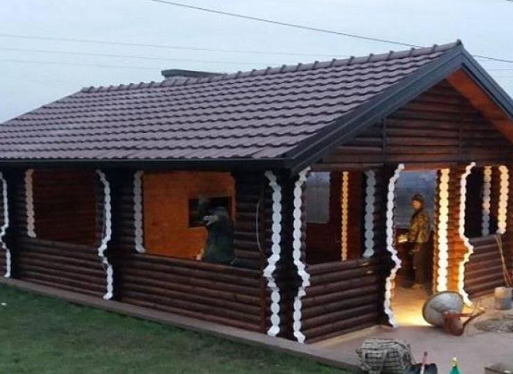Brvnara - montažne kuće Breza